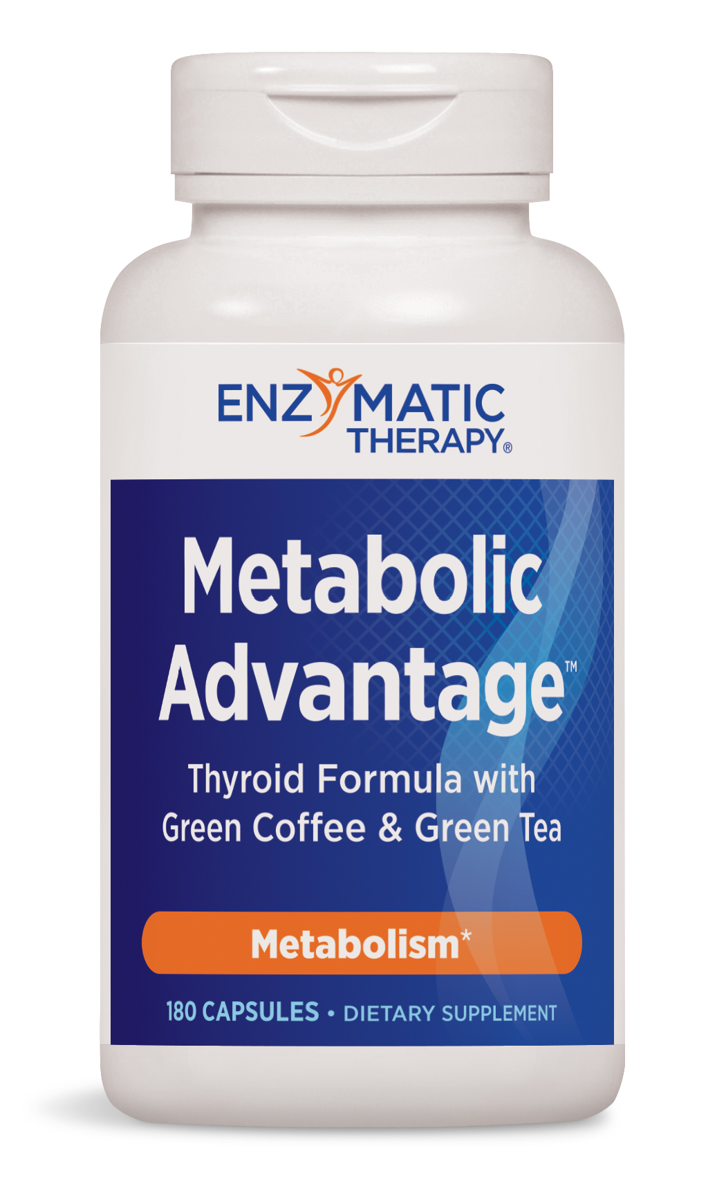 Metabolic Advantage Thyroid Formula 180 caps by Enzymatic Therapy (EXPIRES 2/18)
