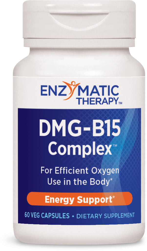 DMG-B15-Plus 60 Veg caps by Enzymatic Therapy