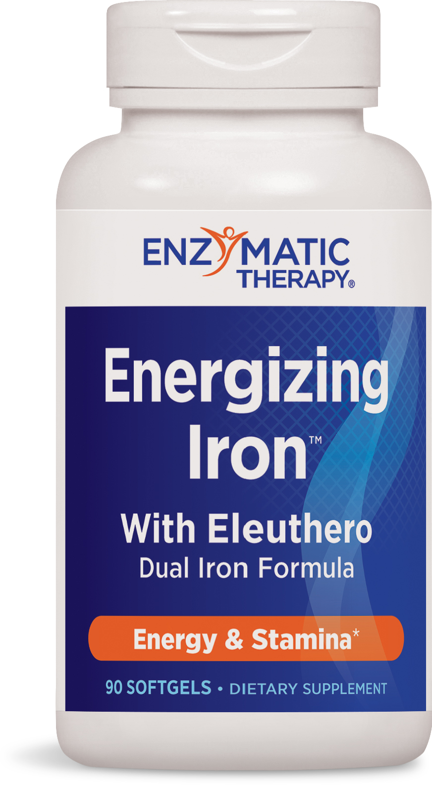 Energizing Iron with Eleuthero 90 sgels by Enzymatic Therapy