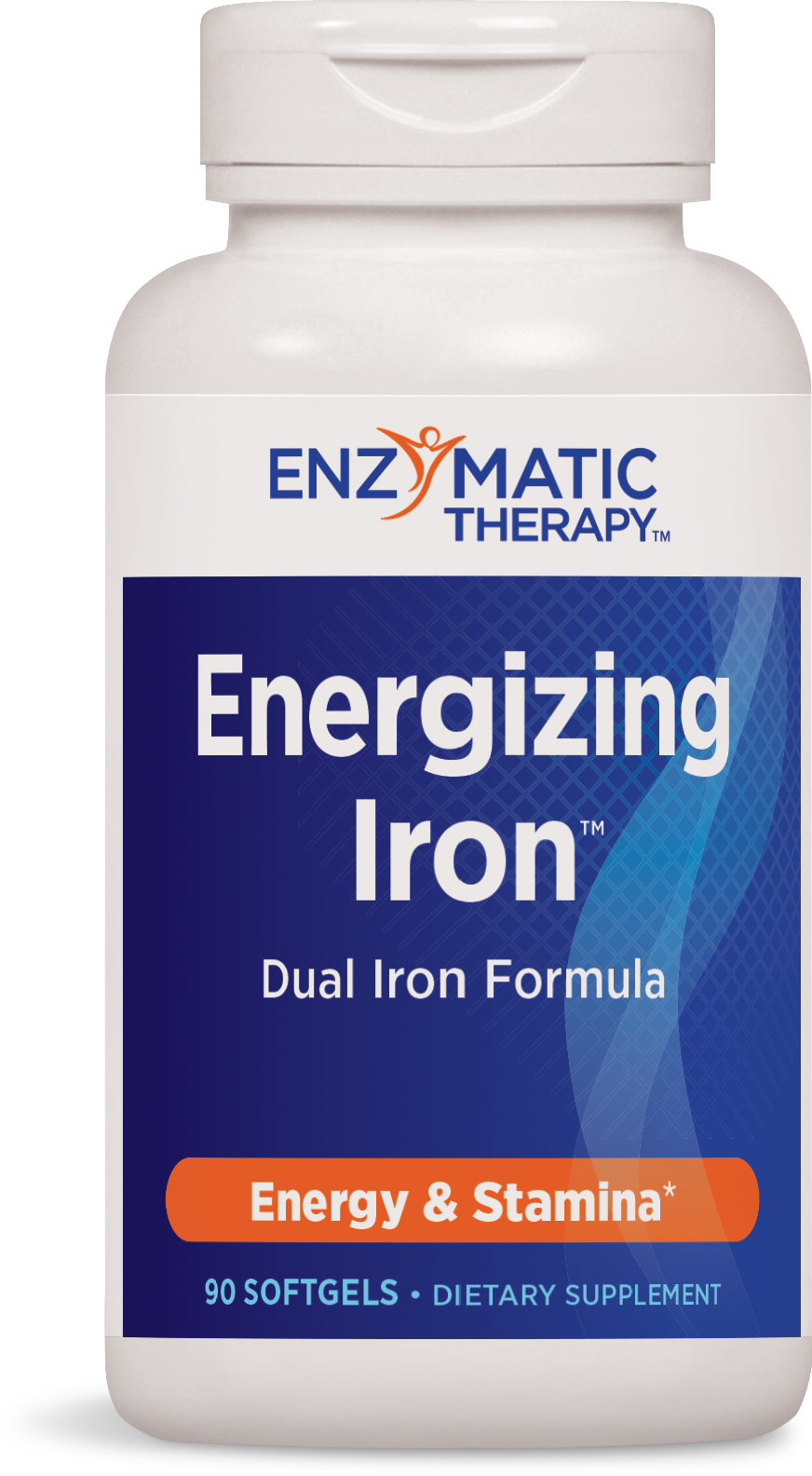 Energizing Iron 90 sgels by Enzymatic Therapy