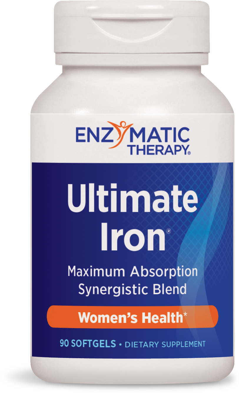 Ultimate Iron 90 sgels by Enzymatic Therapy