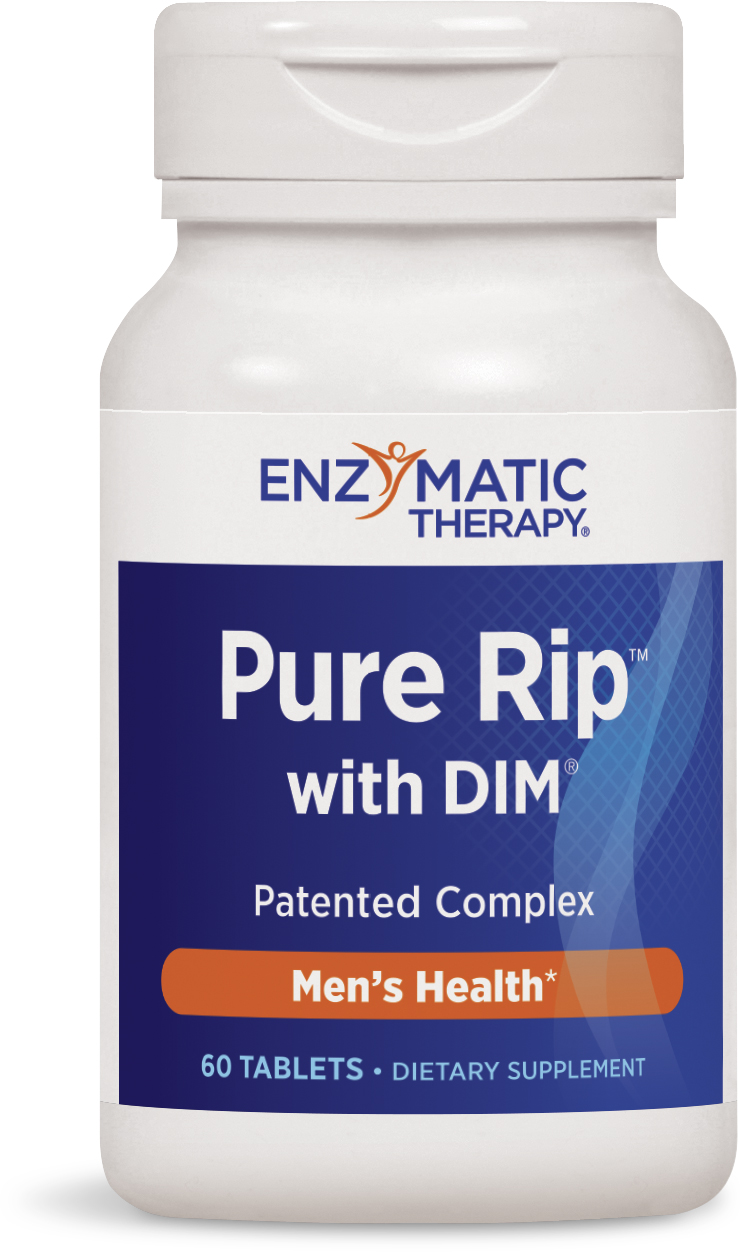 Pure Rip with DIM 60 tabs by Enzymatic Therapy