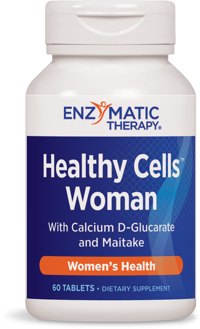 Healthy Cells Breast 60 tabs by Enzymatic Therapy