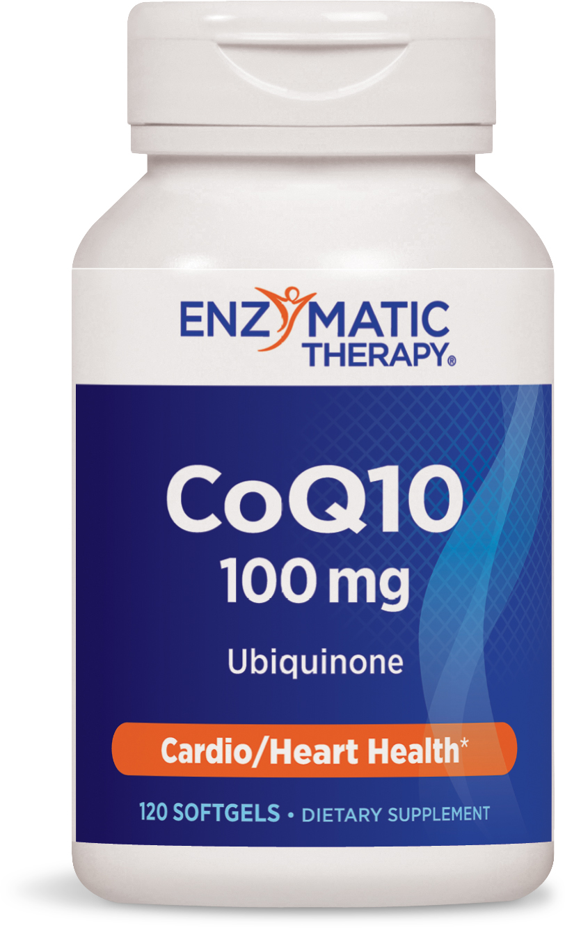 CoQ10 100 mg 120 sgels by Enzymatic Therapy