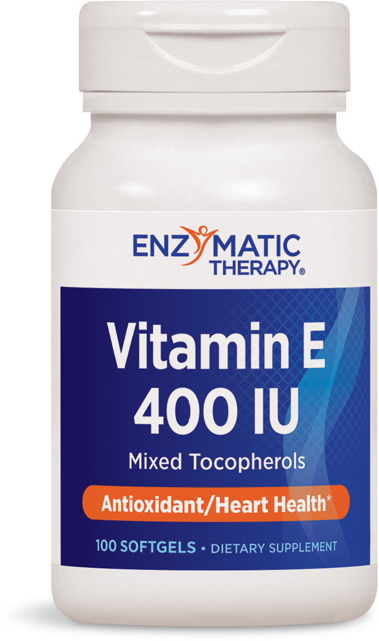 Vitamin E 400 IU 100 sgels by Enzymatic Therapy
