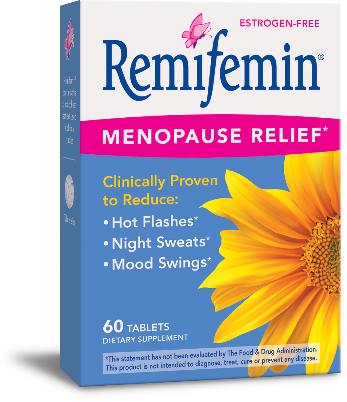 Remifemin Menopause Relief 60 tabs by Enzymatic Therapy