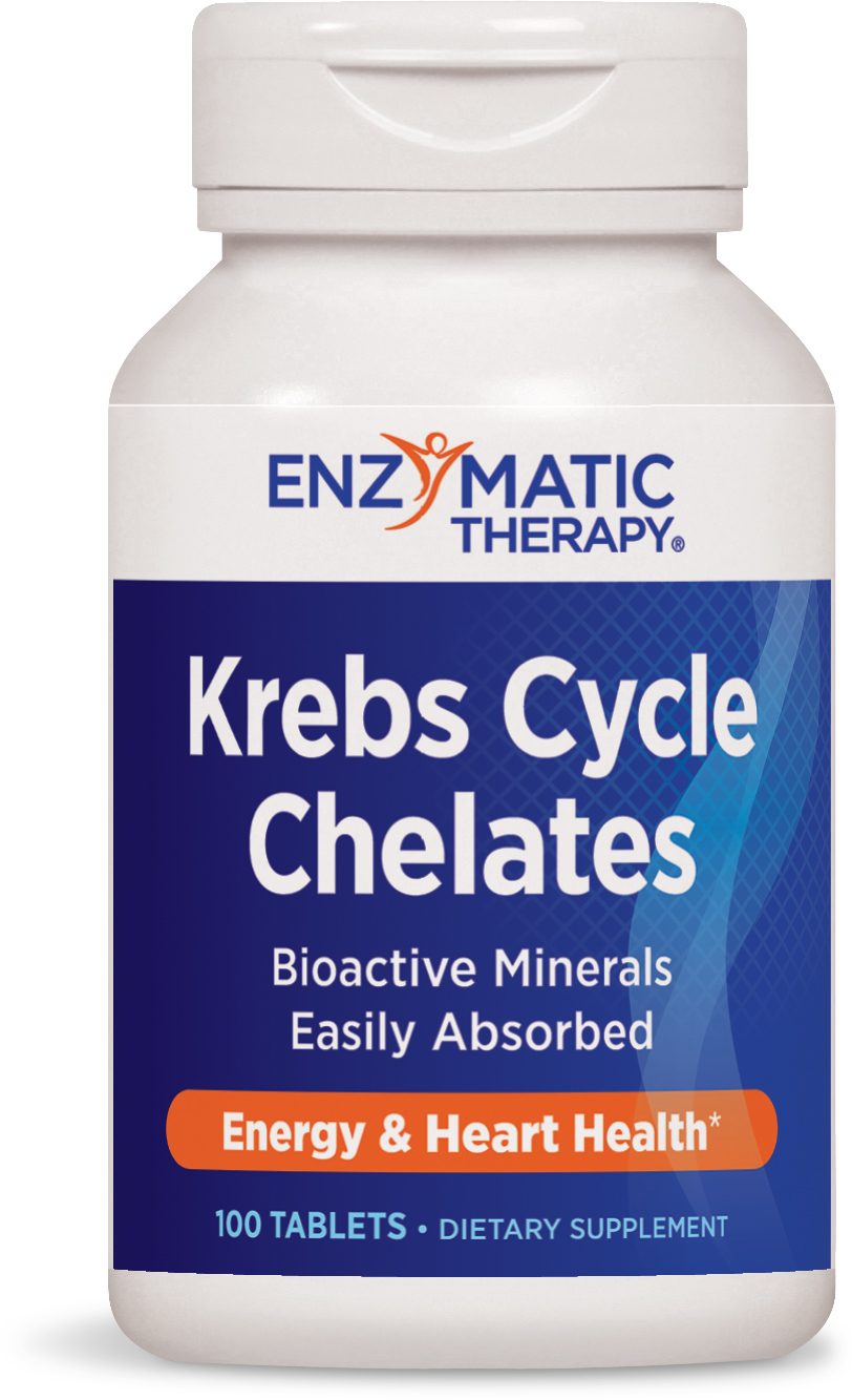 Krebs Cycle Chelates 100 tabs by Enzymatic Therapy