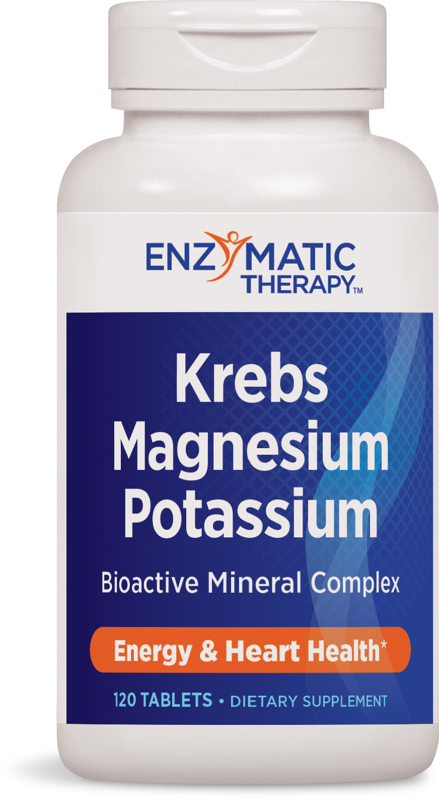 Krebs Magnesium-Potassium Chelates 60 tabs by Enzymatic Therapy
