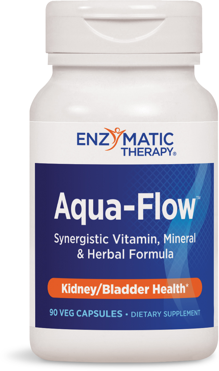 Aqua-Flow 90 Veg caps by Enzymatic Therapy