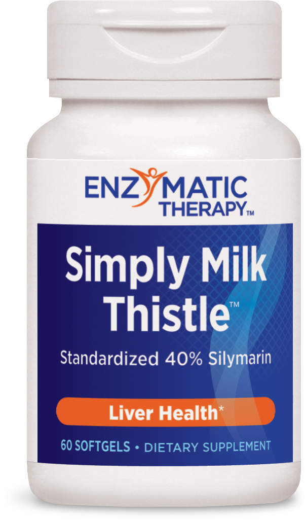 Simply Milk Thistle 60 sgels by Enzymatic Therapy