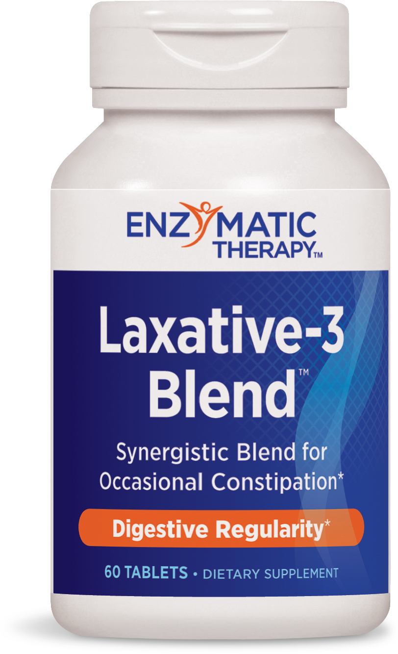 Laxative-3 Blend 60 tabs by Enzymatic Therapy