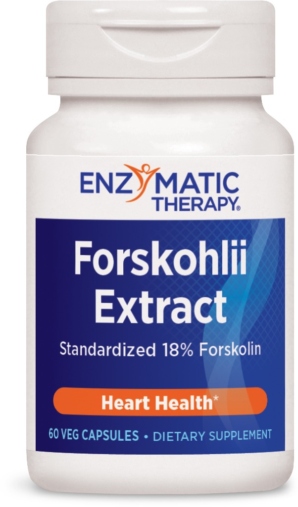 Coleus Forskohlii Extract 60 Veg caps by Enzymatic Therapy