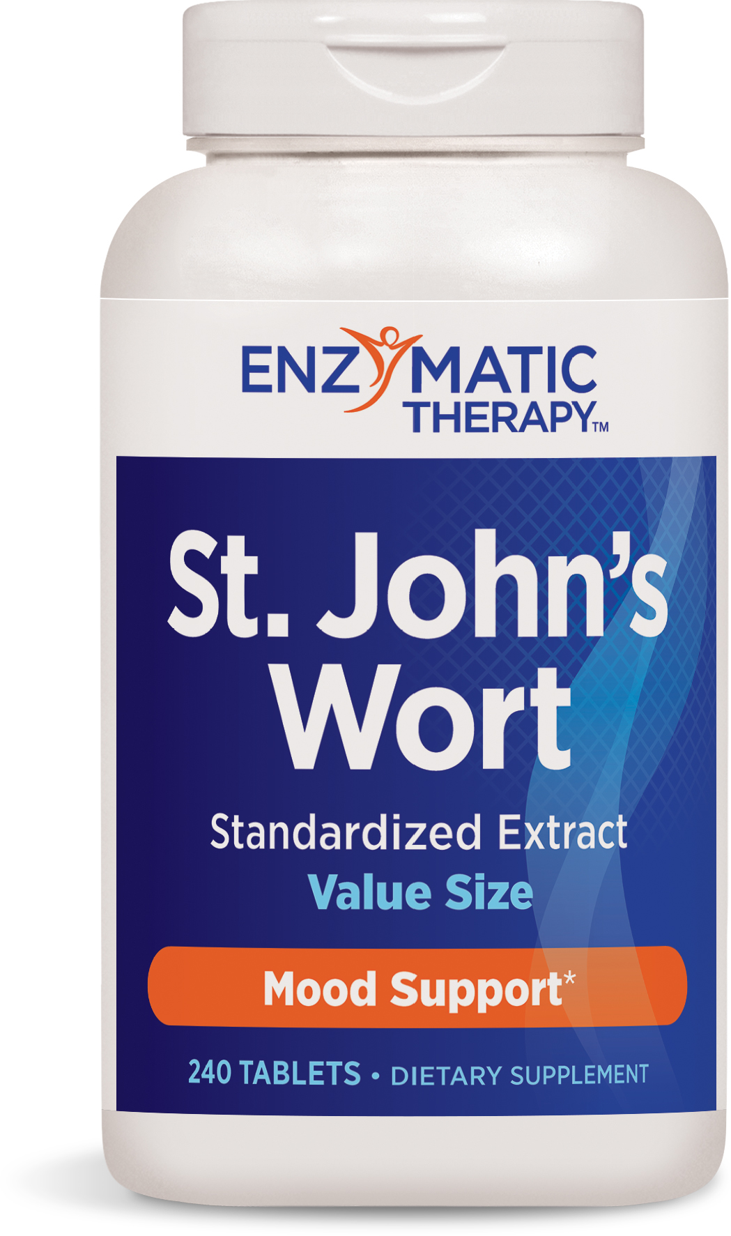 St. John's Wort Extract Extra Strength 240 tabs by Enzymatic Therapy