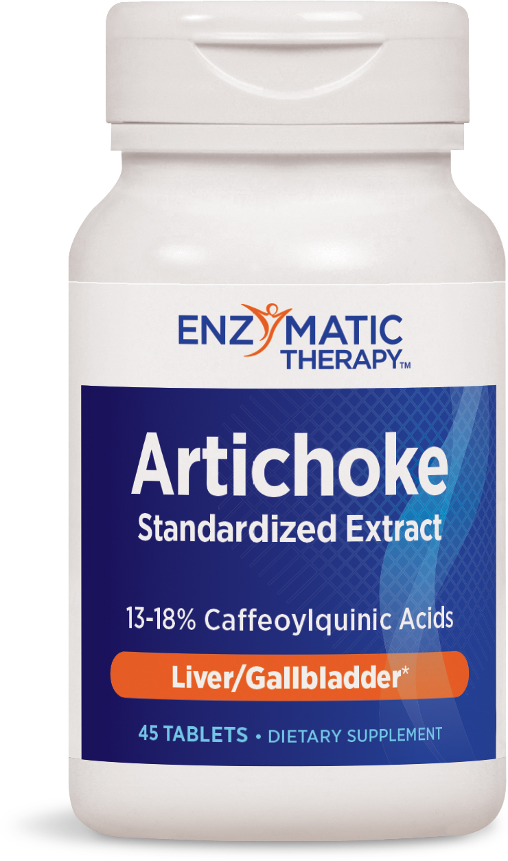 Artichoke Extract 45 tabs by Enzymatic Therapy