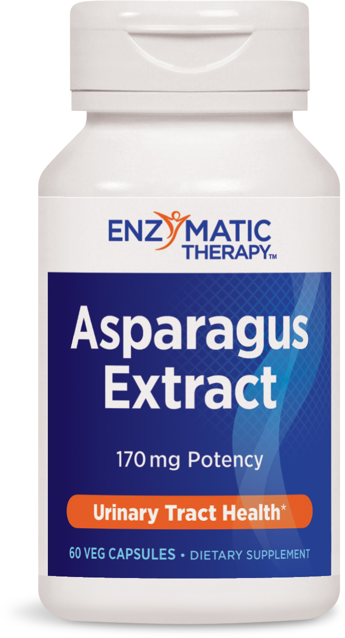 Asparagus Extract 60 Veg caps by Enzymatic Therapy
