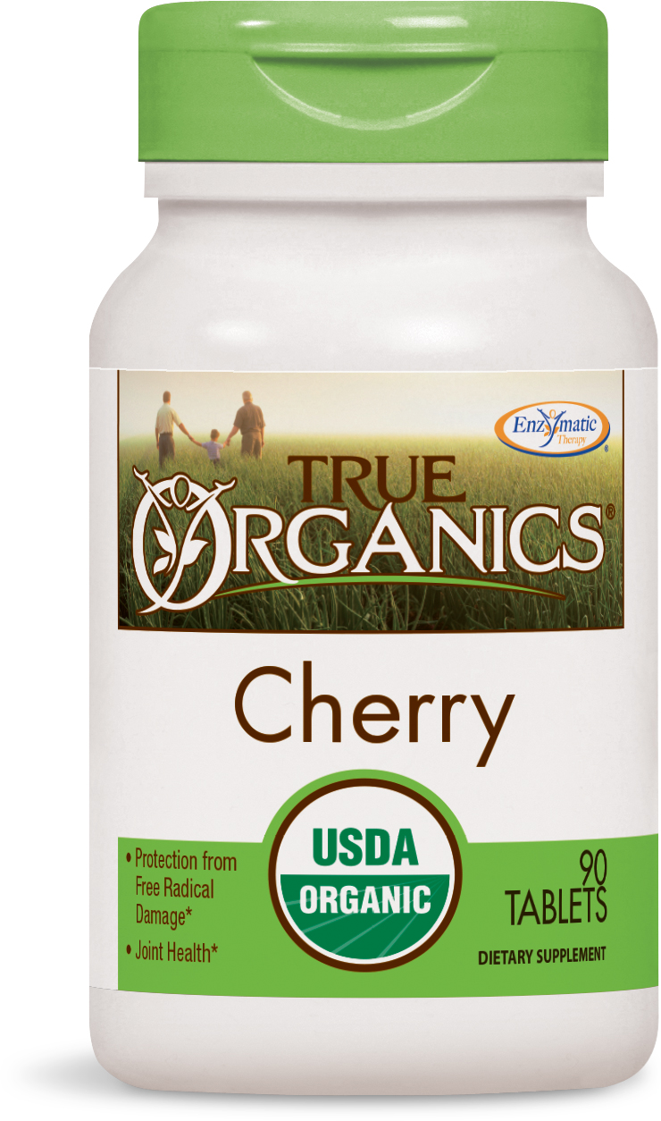 True Organics Cherry 90 tabs by Enzymatic Therapy
