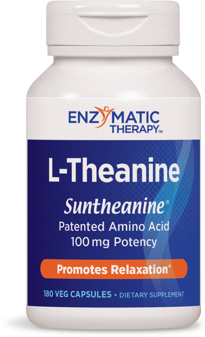 L-Theanine 180 Veg caps by Enzymatic Therapy