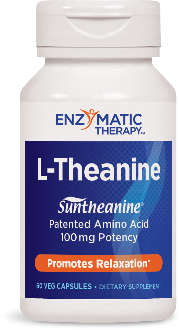 L-Theanine 60 Veg caps by Enzymatic Therapy