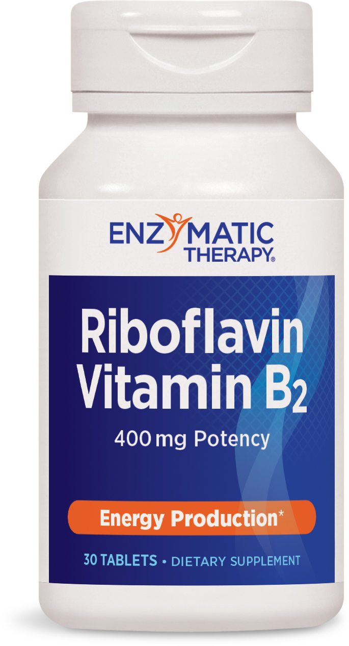 Riboflavin 30 tabs by Enzymatic Therapy