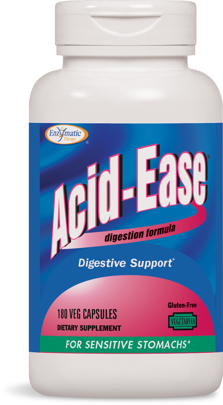 Acid-Ease Digestion Formula 180 Veg caps by Enzymatic Therapy
