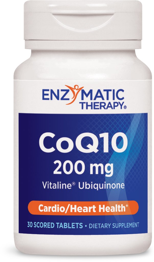 CoQ10 200 mg 30 Scored tabs by Enzymatic Therapy