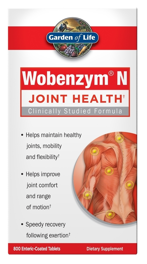Wobenzym N 100 Enteric Coated Tabs by Garden of Life