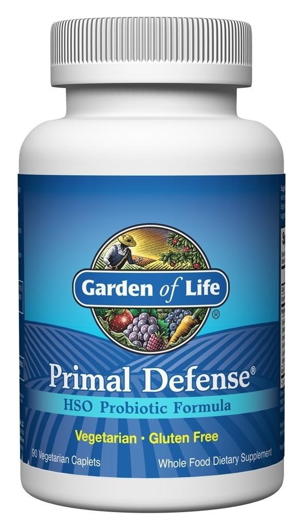 Primal Defense 180 Caplets by Garden of Life