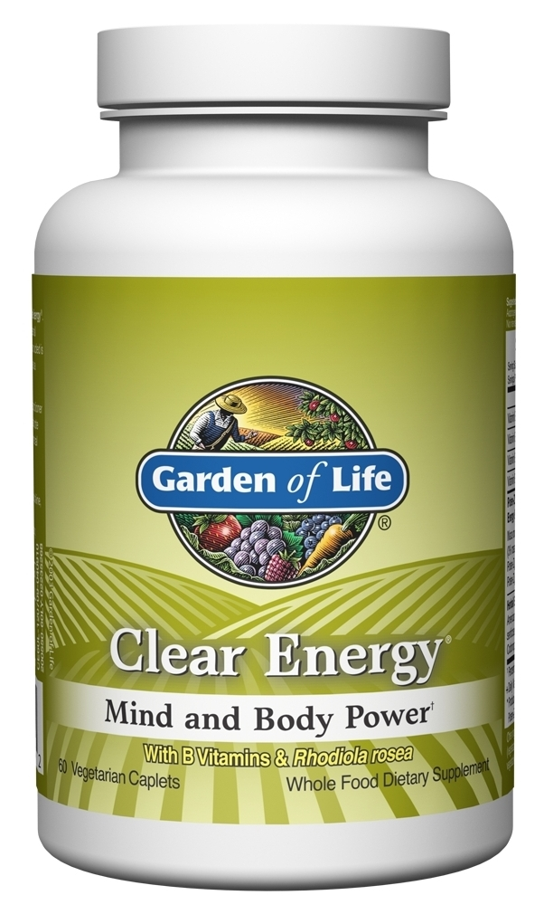 Clear Energy 60 Caplets by Garden of Life