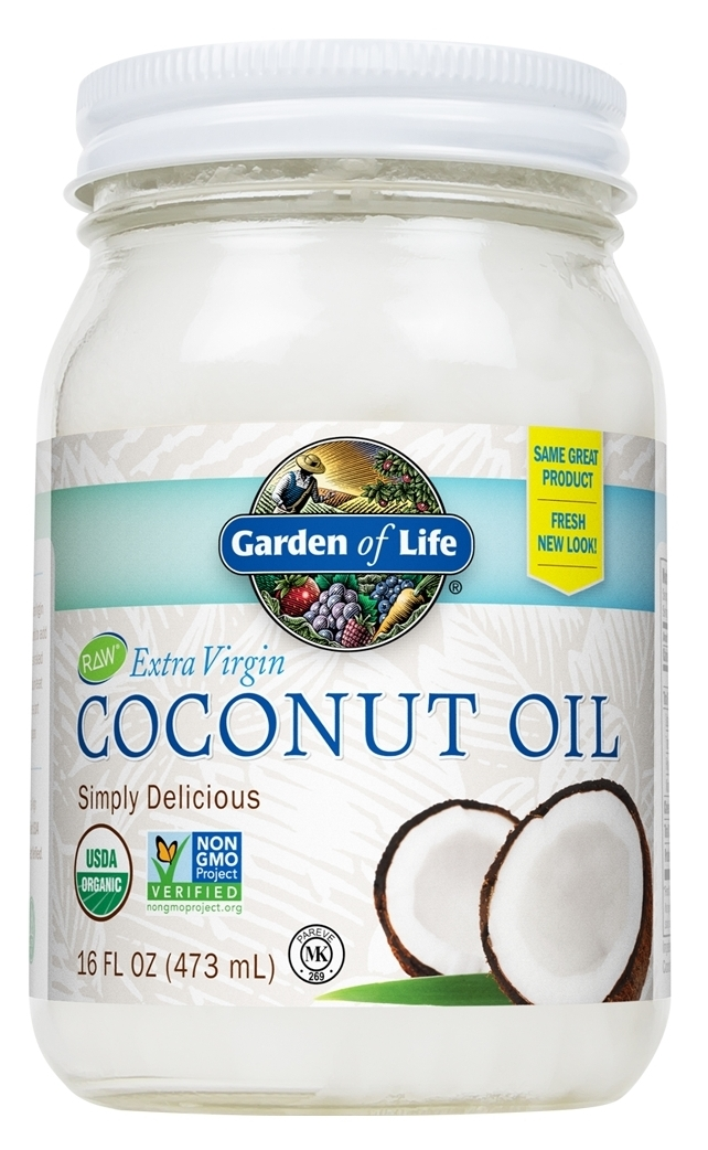 Extra Virgin Coconut Oil 16 fl oz by Garden of Life