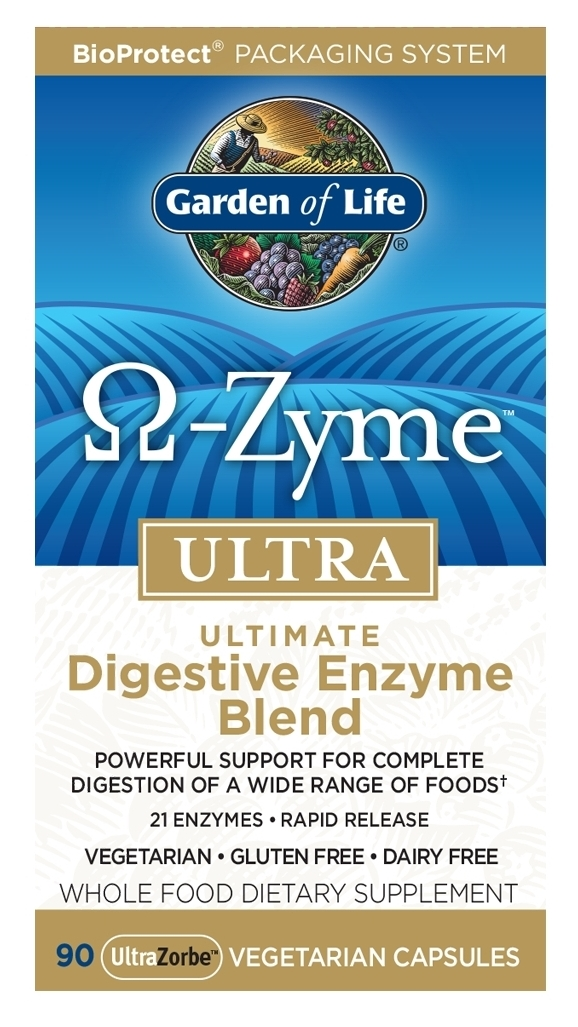 Omega-Zyme Ultra 90 Vegetarian Capsules by Garden of Life