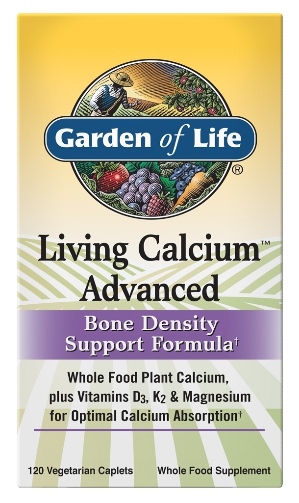 Living Calcium Advanced 120 Caplets by Garden of Life