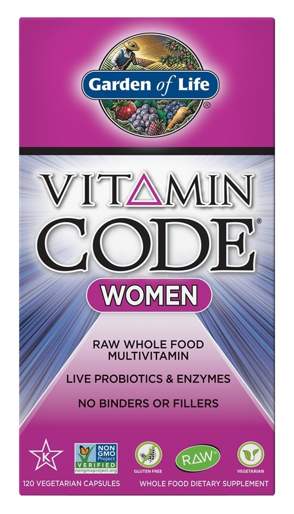 Vitamin Code Women 240 Vegetarian Capsules by Garden of Life