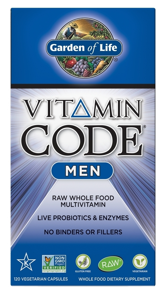 Vitamin Code Men 120 Vegetarian Capsules by Garden of Life