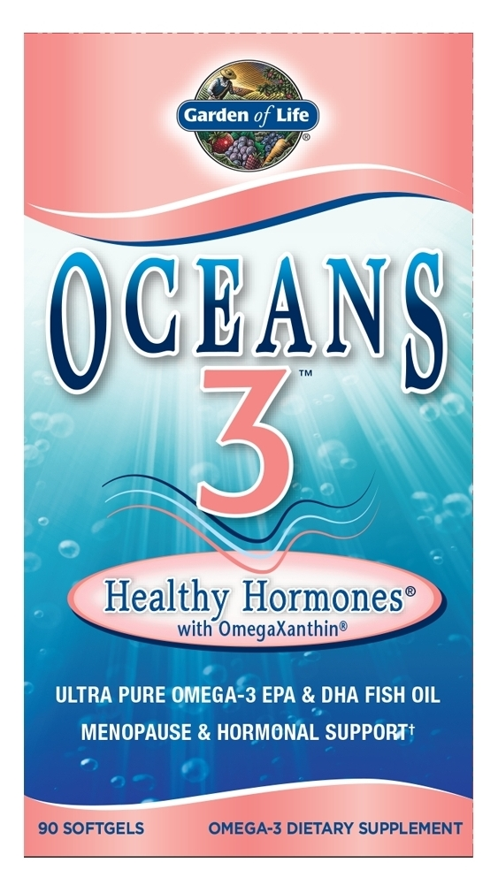 Oceans 3 Healthy Hormones 90 sgels by Garden of Life