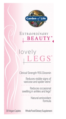 Extraordinary Beauty Lovely Legs 30 Vegan Caplets by Garden of Life