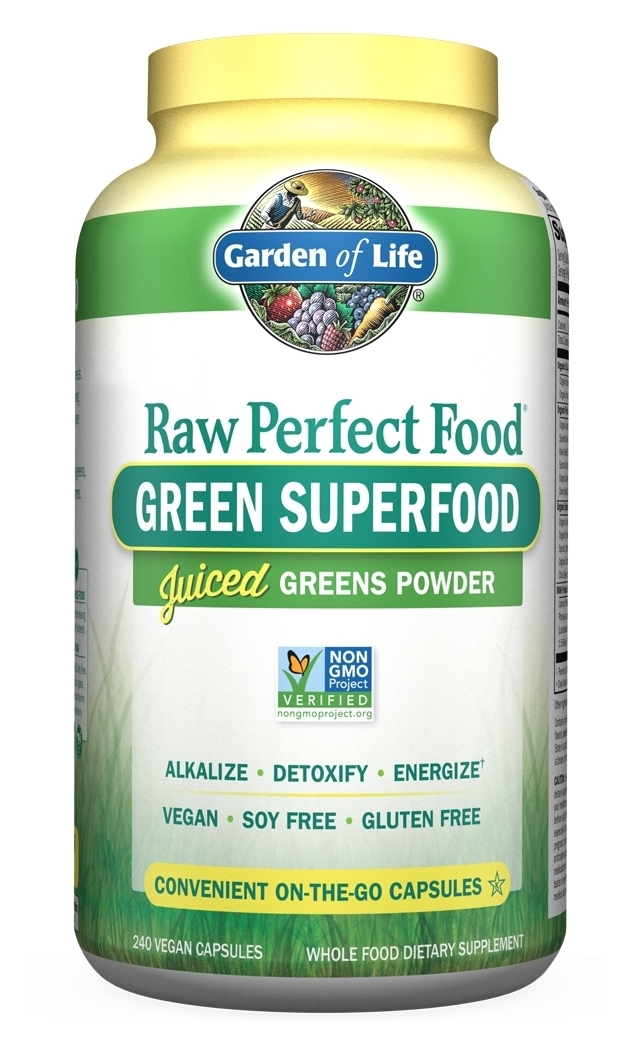 Perfect Food Raw 240 Vegan Capsules by Garden of Life