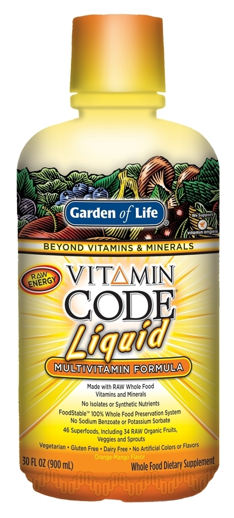 Vitamin Code Liquid Multi 30 fl oz by Garden of Life
