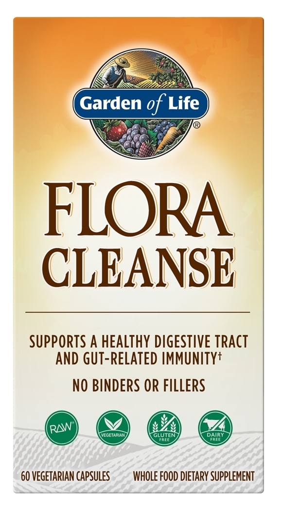 RAW Candida Cleanse (formerly Yeast Freeze) 60 Vegetarian caps by Garden of Life