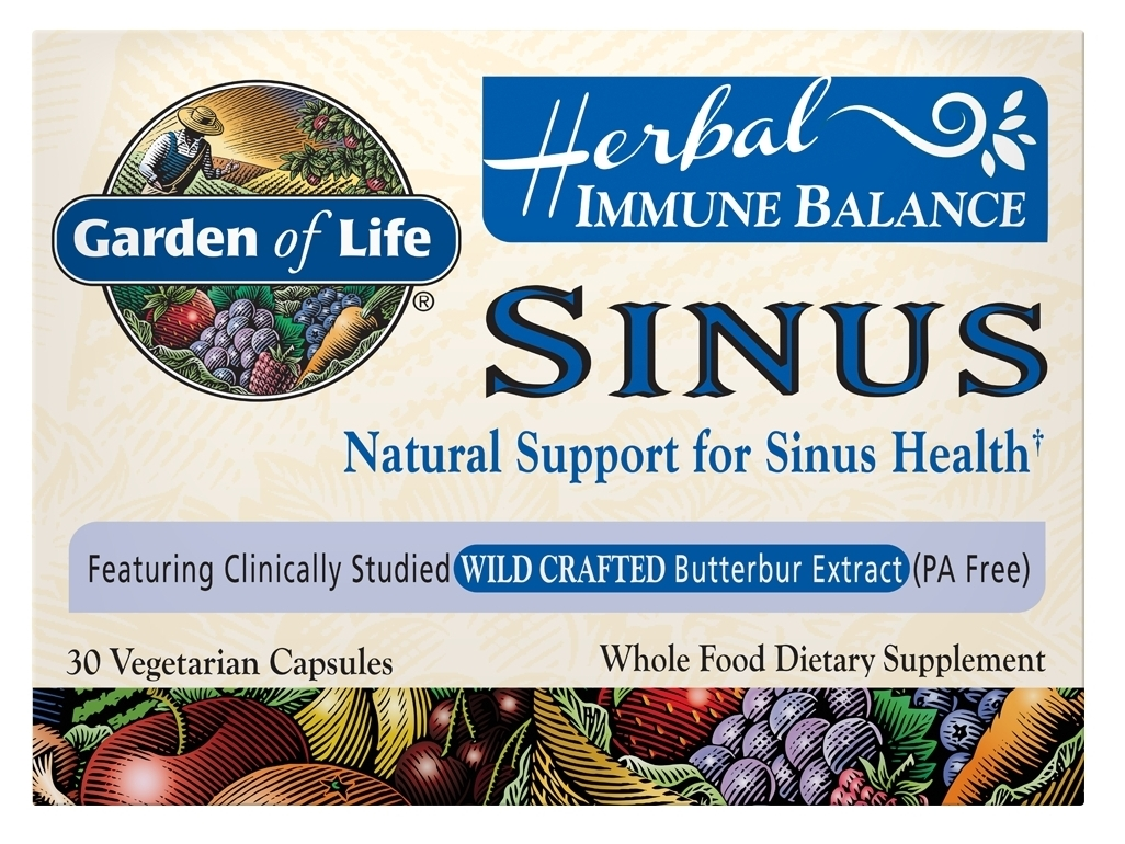 Immune Balance Sinus 60 Vegetarian Caps by Garden of Life
