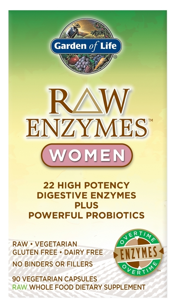 RAW Enzymes Women 90 caps by Garden of Life