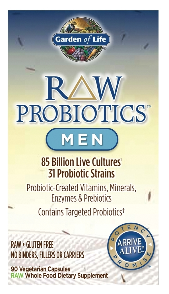 RAW Probiotics Men 90 caps by Garden of Life