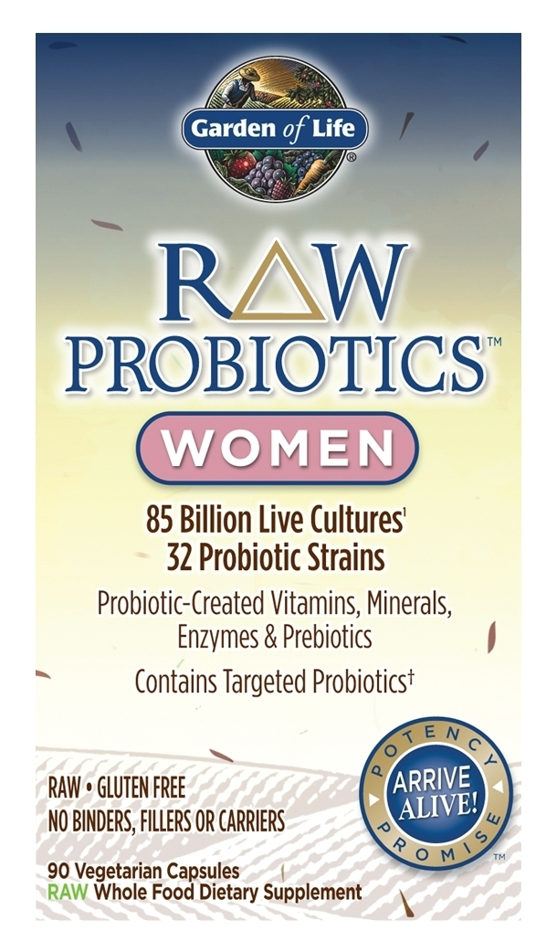 RAW Probiotics Women 90 caps by Garden of Life