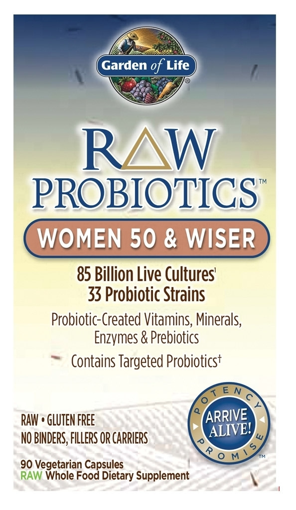 RAW Probiotics Women 50 & Wiser 90 caps by Garden of Life