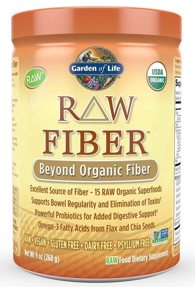 RAW Organic Fiber 268 g by Garden of Life