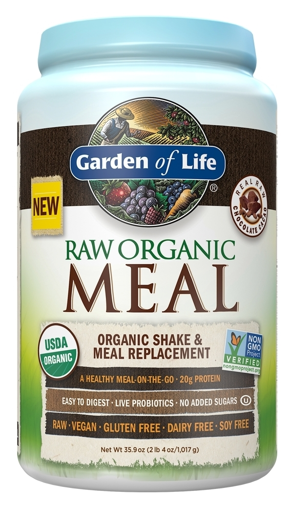 RAW Meal Chocolate 2.7 lbs (1.2 kg) by Garden of Life