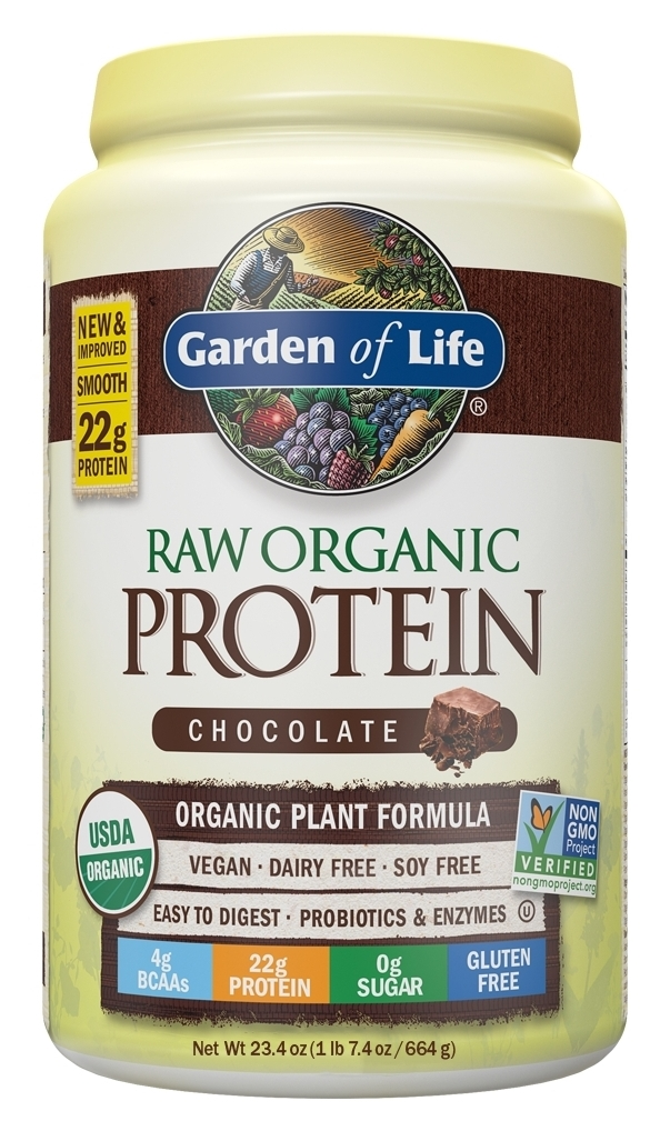 RAW Protein Chocolate 650 g by Garden of Life