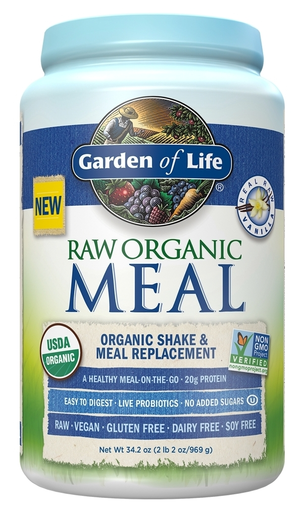 RAW Organic Meal Vanilla 34.2 oz (969 g) by Garden of Life