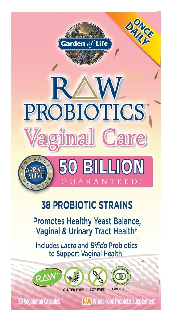 RAW Probiotics Vaginal Care 30 Vegetarian caps by Garden of Life