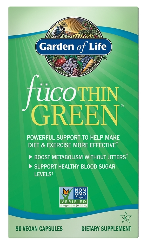 FucoThin Green 90 Vegan caps by Garden of Life