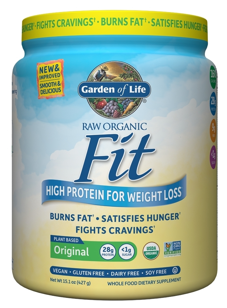 Raw Fit 16 oz (451 g) by Garden of Life